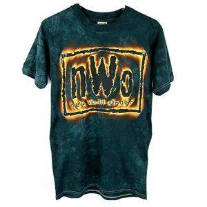 NWT 1998 nWo New World Order WCW Wrestling Tie Dye
